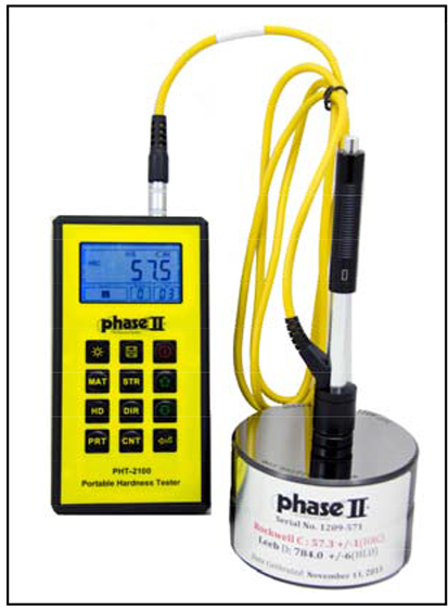 portable hardness testers pht-2500d